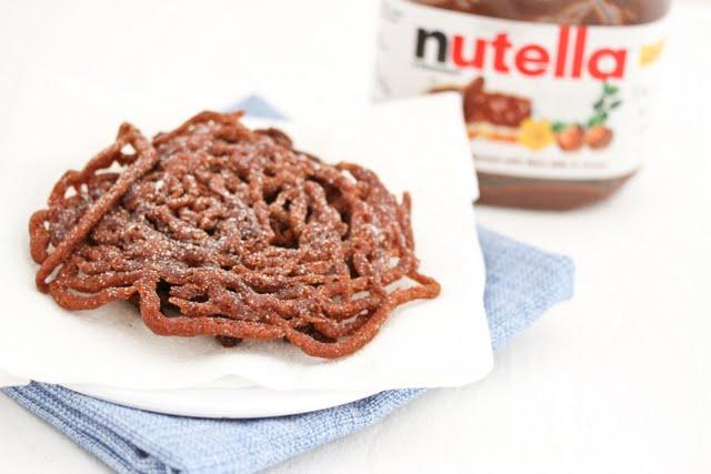 Nutella Funnel Cake