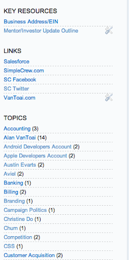 The SimpleCrew Internal Knowledge Database