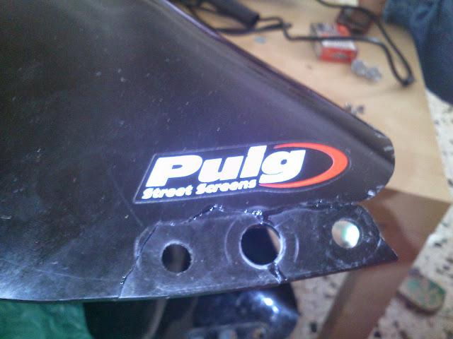 Reparación De Plasticos Cupula Foro125 Foro De Motos De 125 Y Más Allá