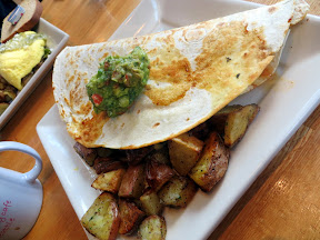 Portage Bay Cafe Migas breakfast Seattle
