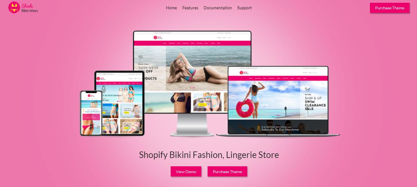 Sheila - Bikini shopify theme