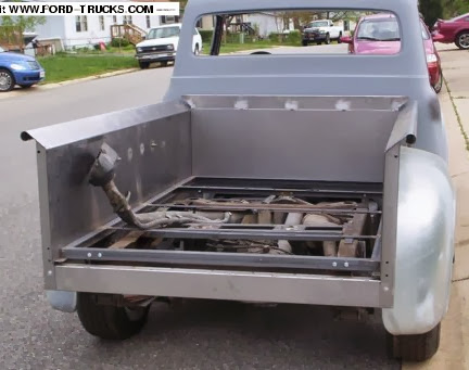 1956 F100 Explorer Chassis Swap Ford Explorer And Ford