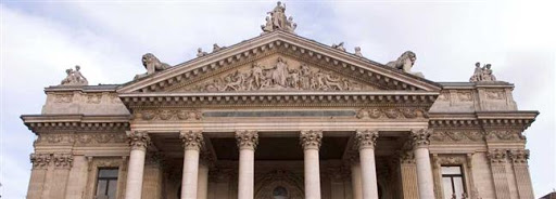 Bruselas Valonia: edificio de La Bolsa