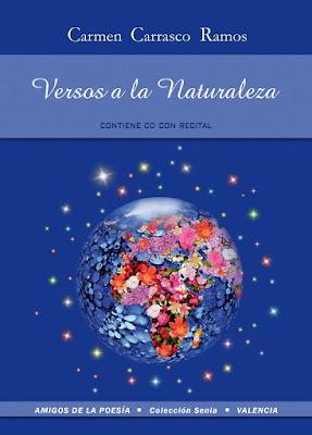 Portada del libro Versos a la Naturaleza de Carmen Carrasco Ramos