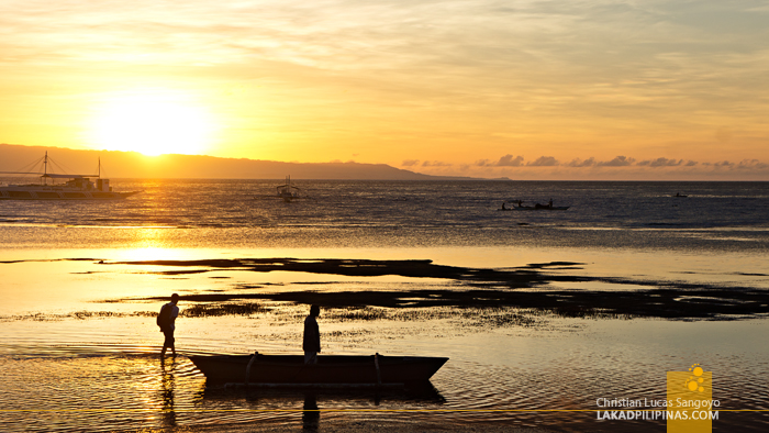 Sunrise at Dumaguete City's Sta. Monica Beach Club
