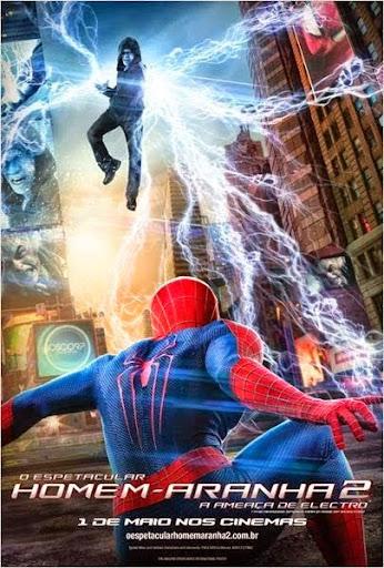 O Espetacular Homem-Aranha 2: A Ameaça de Electro – HDRip AVI Dual Áudio + RMVB Dublado
