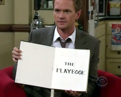 Image result for barney stinson playbook