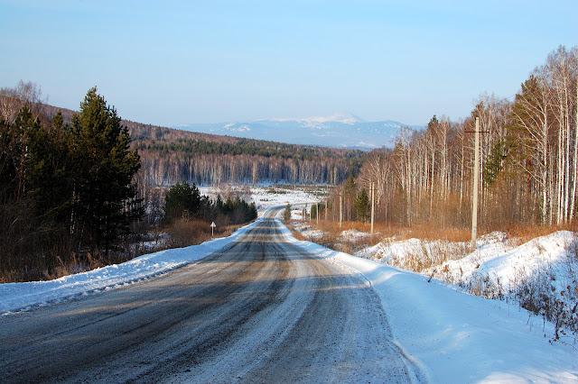 Дорога в Николаевку