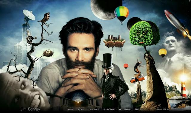 *讓我們來一窺金凱瑞的奇妙世界吧!|Jim Carrey - Official Web Site 1