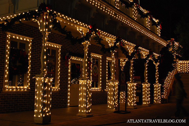 Christmas season in Atlanta