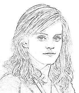 Emma Watson Sketch