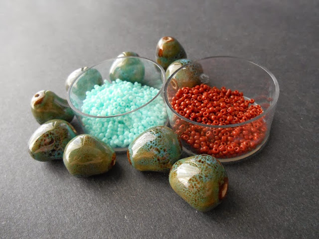 Bird's Nest Bead Color Idea