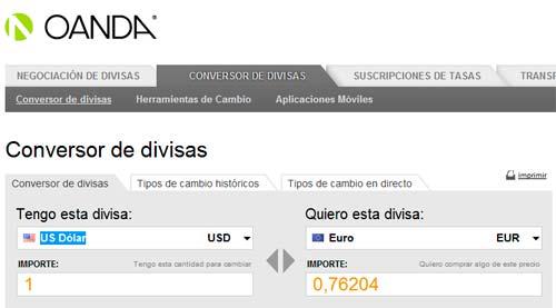 convertidor divisas