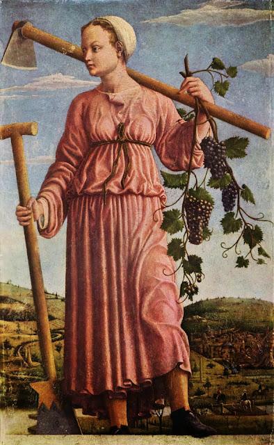 Francesco del Cossa - Polyhymnia