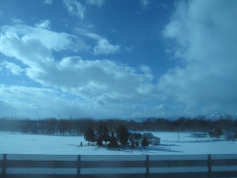 道北バス「流氷もんべつ号」 1026 車窓 その3