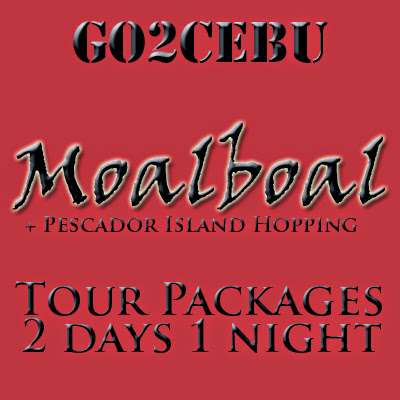 Moalboal Beach Adventure + Pescador Island Hopping in Cebu Tour Itinerary 2 Days 1 Night Package