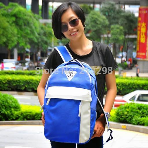 teenage girls fashion nylon backpack mochilas practical