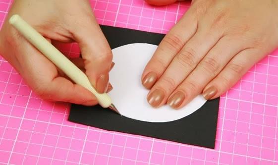 como cortar moldes de eva