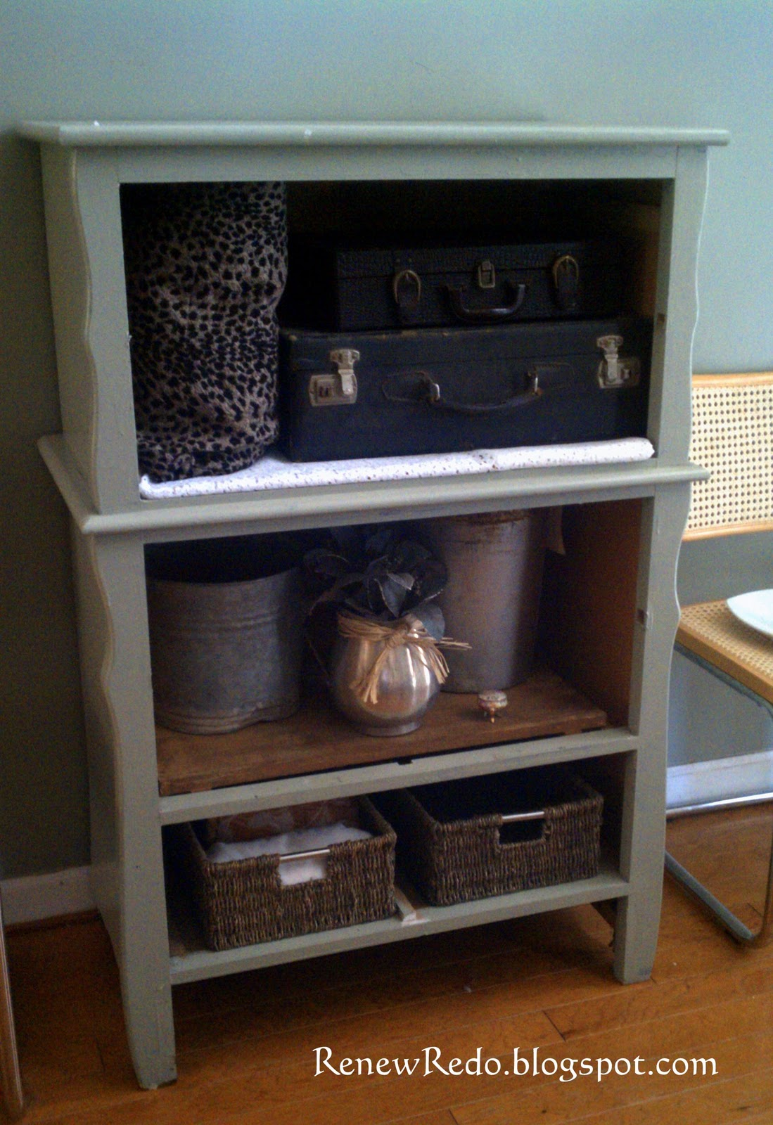 Excellent ReNew ReDo!: Repurposed Chest Of Drawers DQ94