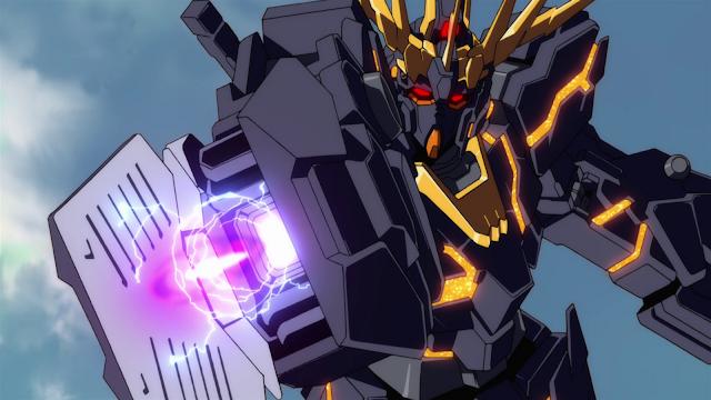 Gundam For The Barrel: Six Days Of Gundam Unicorn, Part Five: Black Unicorn