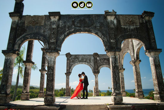 Taman Sukasada Ujung - Prewedding photo activity