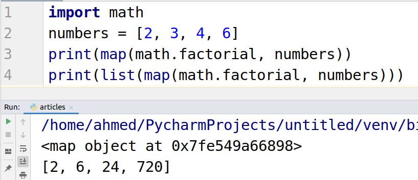 map function