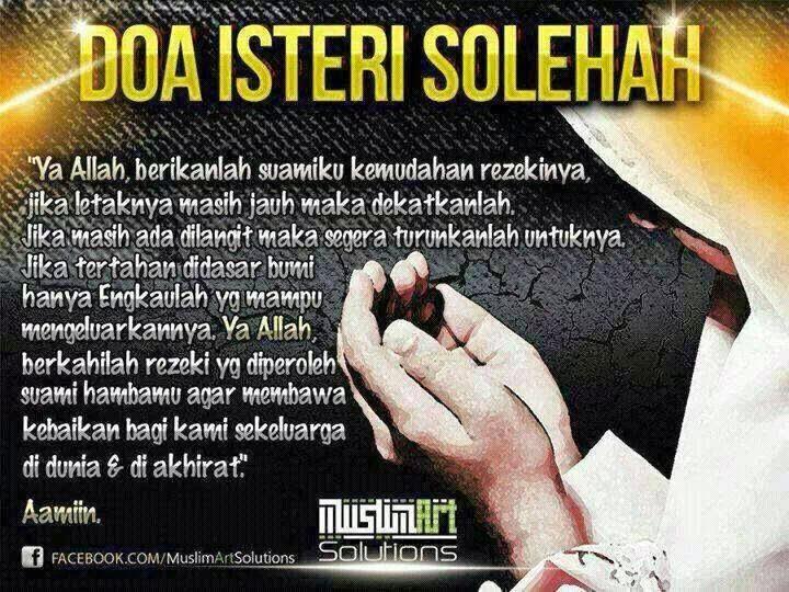 Doa untuk suami.