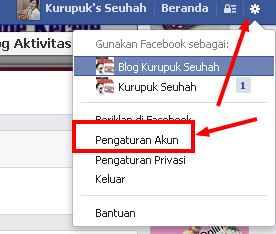 Ganti Nama Facebook