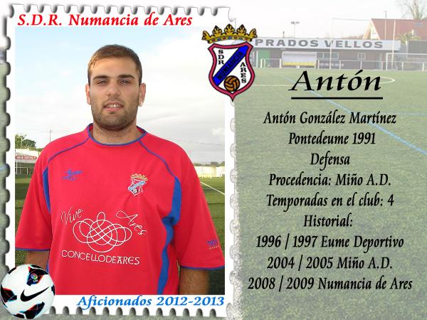 ADR Numancia de Ares. Antón.