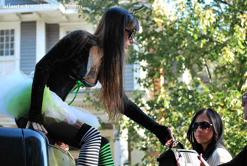 Хэллоуин - женский костюм