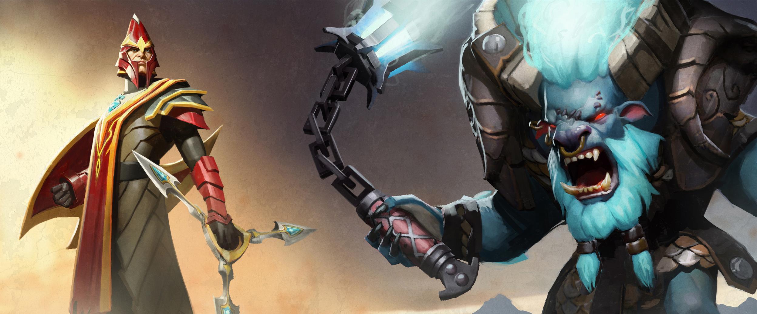 Loạt ảnh nguyên họa của các hero trong DotA 2 - Ảnh 11