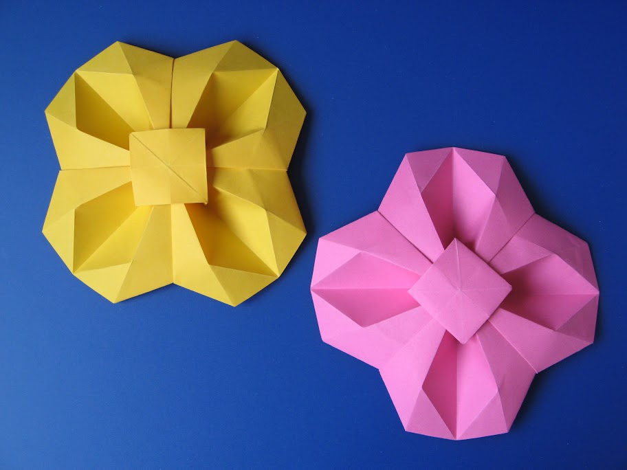 Origami foto Fiore geometrico - Geometric Flower, by Francesco Guarnieri