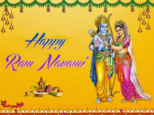 Happy Ram Navami Wishes Sms With Greetings Pitures