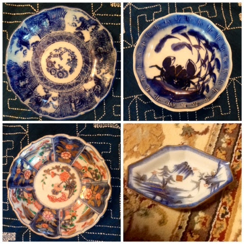 Antique Imari cover for a bowl & Modern Japanese Pottery and Porcelain Marks (??): OLD IMARI (? ...