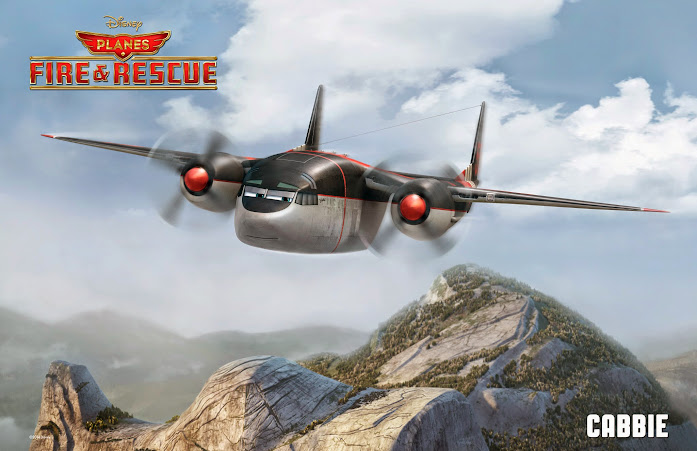 Disney Planes: Fire & Rescue - Cabbie (Planes Fire and Rescue)