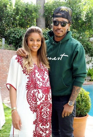 Singer Ciara welcomes baby boy with her rapper fiancé Future...