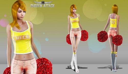 Sudden Attack ra mắt trang phục hoạt náo viên 1