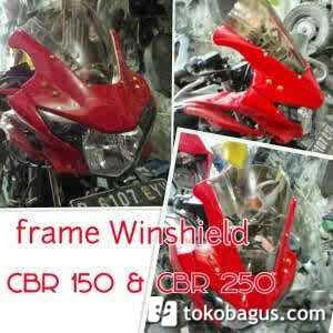 Frame fairing / tepi fairing / plisir fairing for new CBR 150/250