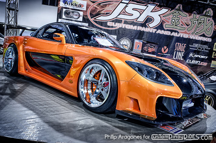 VEILSIDE FORTUNE MAZDA RX7 TOKYO DRIFT Movie Car Replica by JSK