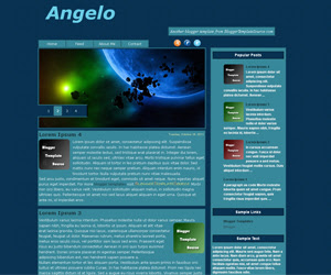 blogger template custom slideshow