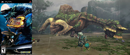 Monster Hunter Portable 3rd - English Patched v3.91 FINAL PSP Download