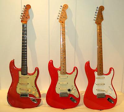 Fender Dakota Red Paint