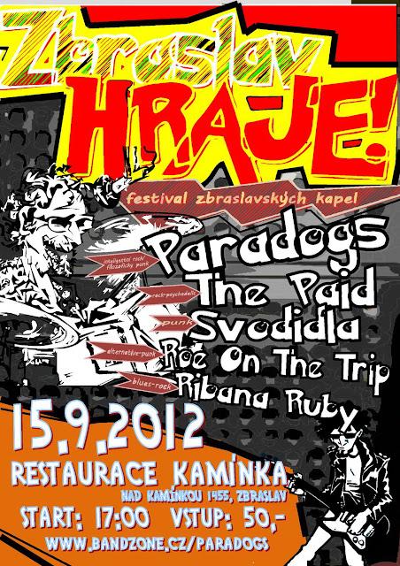 ThE Paid live at ZBRASLAV HRAJE 2012