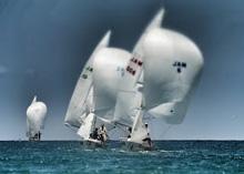 J/22 sailing Jamaica, Montego Bay
