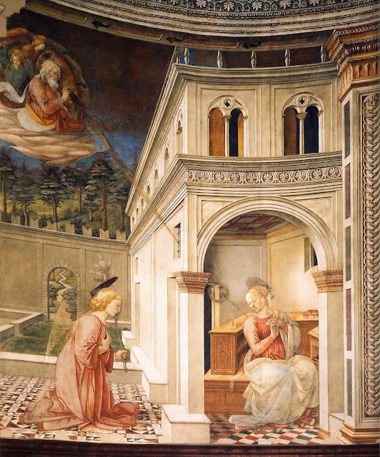 Fra Filippo Lippi - The Annunciation, between 1467 and 1469