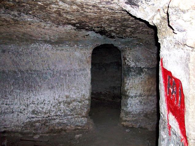 Interior Cueva Campamento Titulcia