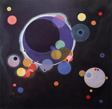 Alguns cercles - W. Kandinsky