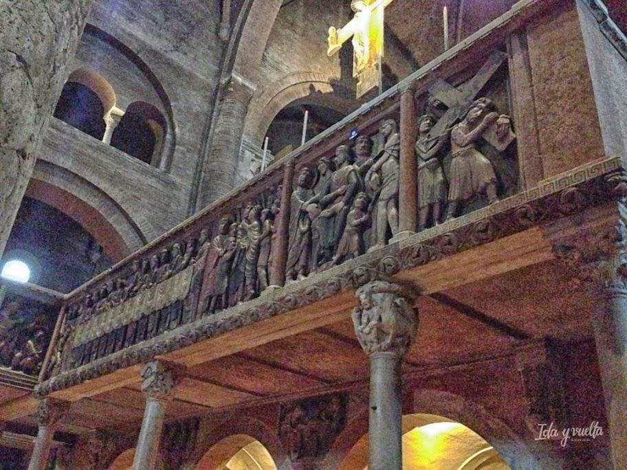 Iconostasio del interior de la Catedral de Módena