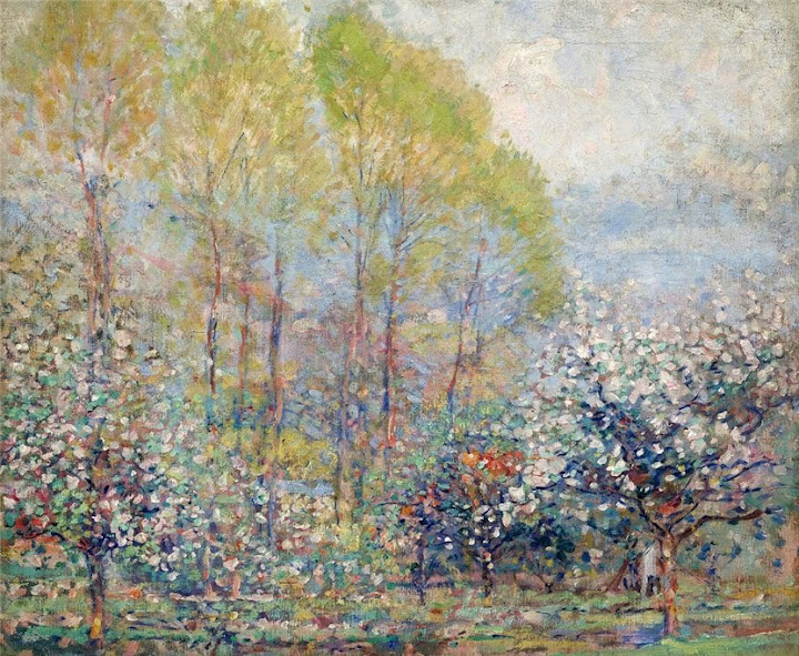 Karl Albert Buehr – Springtime in Giverny