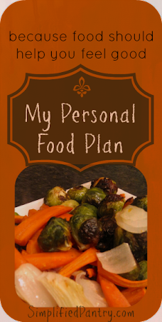 personal food rules eating plan